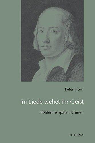 Im Liede wehet ihr Geist: Peter Horn