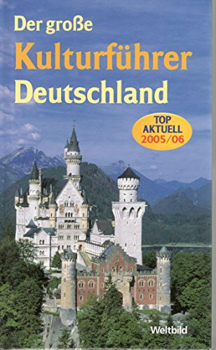 9783898970631: Der grosse Kulturführer Deutschland. (2005/06)