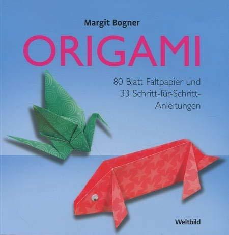 9783898975117 Origami 80 Blatt Faltpapier 33 Schritt Fur