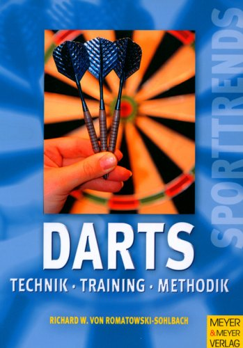 9783898992015: Darts. Technik - Training - Methode