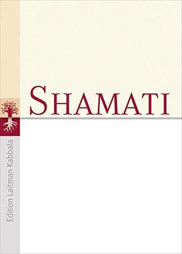 9783899016376: Shamati