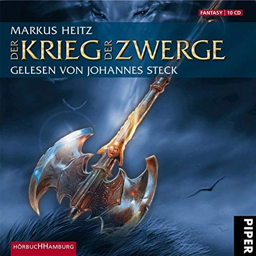 9783899034004: Der Krieg der Zwerge: 10 CDs (Die Zwerge, Band 2)