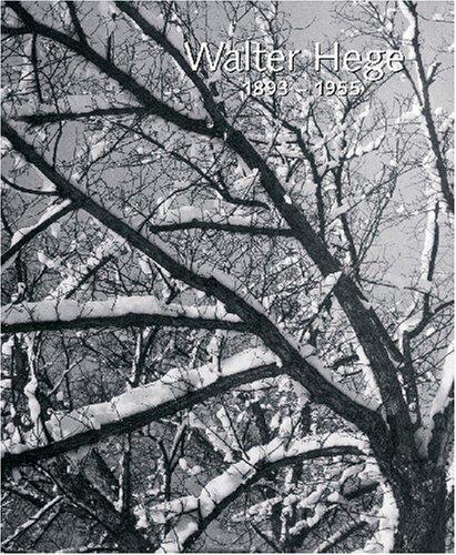 9783899042337: Walter Hege 1893 - 1955. Fauna & Flora, Garten & Veduten.Zum. 50 Todestag