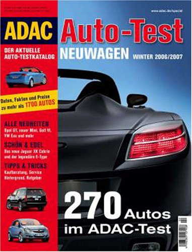 9783899053357: ADAC Special Auto-Test Winter 2006/2007