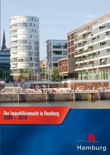 9783899070699: Der Immobilienmarkt in Hamburg 2000-2010: Geschäftsstelle des Gutachterausschusses für Grundstückswerte in Hamburg