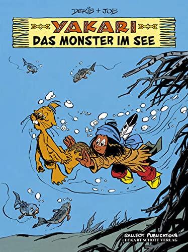 9783899083064: Yakari 17. Das Monster im See