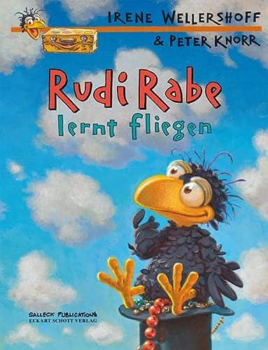 9783899083231: Rudi Rabe lernt fliegen