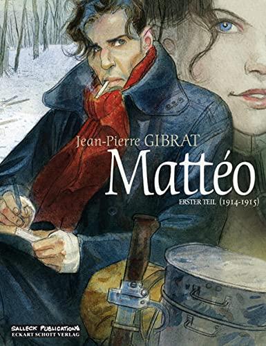 9783899083262: Mattéo 01: Erster Teil: 1914 - 1915