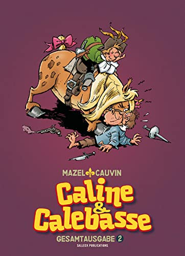 Caline /& Calebasse Gesamtausgabe 2   Salleck Neuware