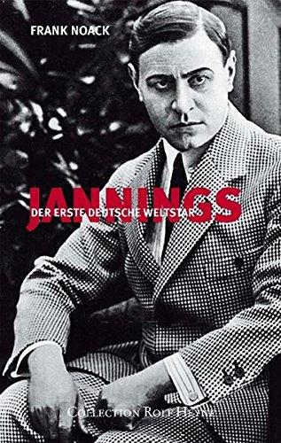 9783899105360: Jannings: Der erste deutsche Weltstar