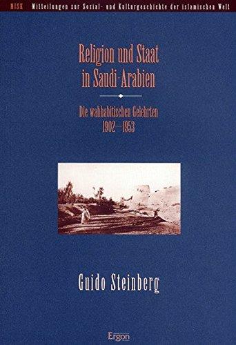 Religion und Staat in Saudi-Arabien: Guido Steinberg