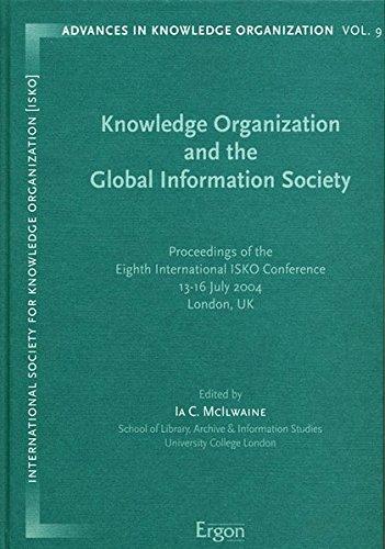 Knowledge Organization and the Global Information Society: Ia C McIlwaine