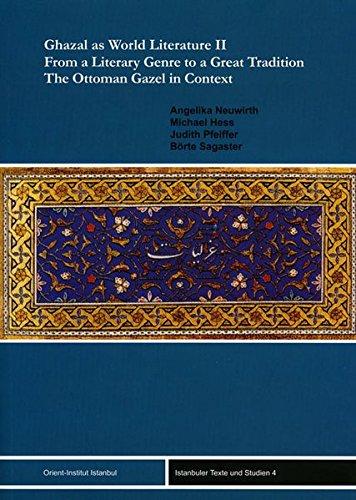 9783899134797: Ghazal As World Literature