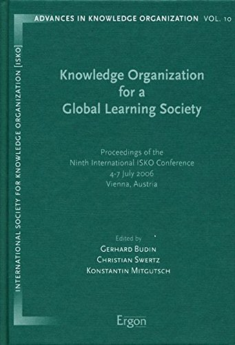 Knowledge Organization for a Global Learning Society: Gerhard Budin