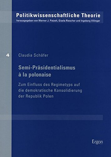 9783899136265: Semi-Pr�sidentialismus � la polonaise: Zum Einfluss des Regimetyps auf die demokratische Konsolidierung der Republik Polen