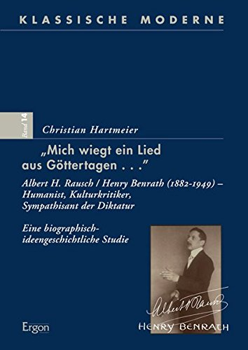 Mich wiegt ein Lied aus Göttertagen.: Christian Hartmeier