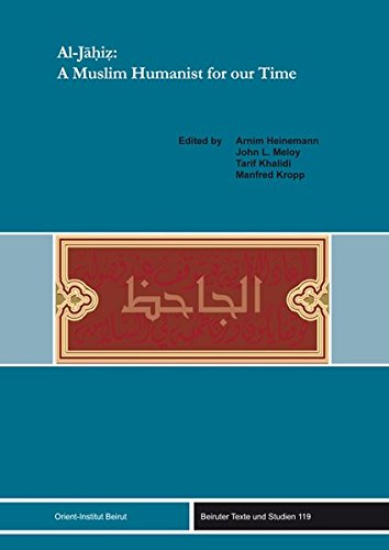 9783899136760: Al-Jahiz: A Muslim Humanist for our Time (Beiruter Texte Und Studien)