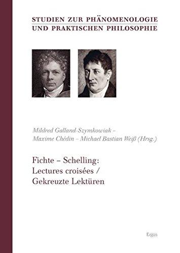 9783899137286: Fichte – Schelling: Lectures croisées / Gekreuzte Lektüren
