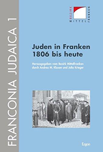 9783899137859: Juden in Franken 1806 bis heute