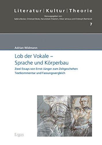 Lob der Vokale ? Sprache und Körperbau: Adrian Widmann