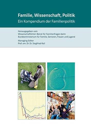 9783899138771: Familie, Wissenschaft, Politik