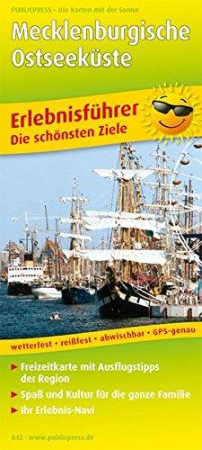 9783899200423: Erlebnisführer Mecklenburgische Ostseeküste 1 : 180 000: Mit Informationen zu Freizeiteinrichtungen auf der Kartenrückseite, GPS-genau