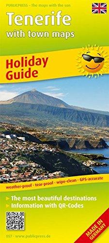 9783899200577: Teneriffa 1 : 115 000. Englische Ausgabe: Freizeitkarte mit Informationen zu Freizeiteinrichtungen auf der Kartenrückseite