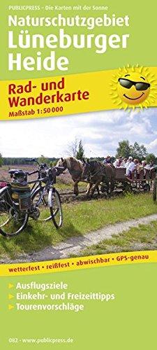 9783899200829: Naturschutzgebiet Lüneburger Heide 1 : 50 000. Rad- und Wanderkarte: Mit Ausflugszielen, Einkehr- & Freizeittipps