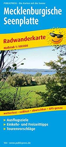 9783899201048: Mecklenburg Lake District 104 Bicycle Ma
