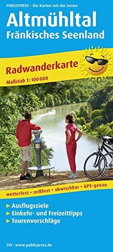 9783899201109: Radwanderkarte Altmühltal - Fränkisches Seenland 1 : 100 000
