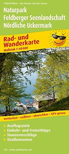 9783899201321: Naturpark Feldberger Seenlandschaft - Nördliche Uckermark 1 : 60 000: Rad- und Wanderkarte mit Ausflugszielen, Einkehr- & Freizeittipps, Straßennamen. GPS-genau