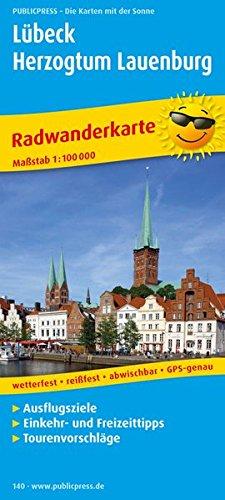 Radwanderkarte Lübeck - Herzogtum Lauenburg 1 : 100 000: Mit Ausflugszielen, Einkehr- und ...