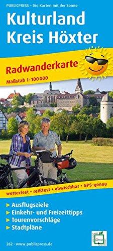 Radwanderkarte Kulturland Kreis Höxter 1 : 75 000: mit Ausflugszielen, Einkehr- & ...