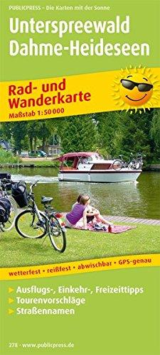 9783899202786: Rad- und Wanderkarte Unterspreewald - Dahme-Heideseen 1 : 50 000