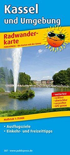 Kassel und Umgebung Radwanderkarte 1 : 75 000: Mit Ausflugszielen, Einkehr- & Freizeittipps, ...