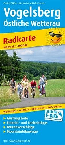 9783899203080: Radkarte Vogelsberg - Östliche Wetterau 1 : 100 000: Mit Ausflugszielen, Einkehr- & Freizeittipps, wetterfest, reissfest, abwischbar, GPS-genau