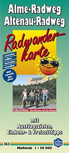 9783899203639: Alme-Radweg / Altenau-Radweg 1 : 50 000: Radwanderkarte Alme-Radweg / Altenau-Radweg: Mit Ausflugszielen, Einkehr- & Freizeittipps, wetterfest, reissfest, abwischbar, GPS-genau
