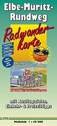 9783899203738: Elbe-Müritz-Rundweg: Radwanderkarte mit Ausflugszielen, Einkehr- & Freizeittipps