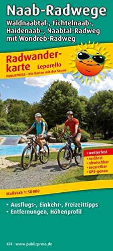 9783899204742: Radwanderkarte Naab-Radwege: Waldnaabtal-, Fichtelnaab-, Haidenaab-, Naabtal-Radweg mit Wondreb-Radweg: mit Ausflugszielen, Einkehr- & Freizeittipps, ... GPS-genau. 1:50000 (Livre en allemand)