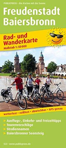 9783899205237: Rad- und Wanderkarte Freudenstadt - Baiersbronn 1 : 50 000: Mit Ausflugs-, Einkehr- & Freizeittipps - Tourenvorschläge - Straßennamen - Baierbronner Seensteig - GPS-genau