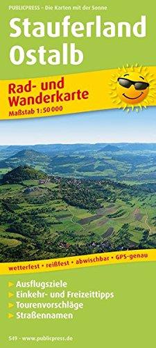Stauferland - Ostalb Rad- und Wanderkarte 1 : 50 000: Mit Ausflugszielen, Einkehr- & ...