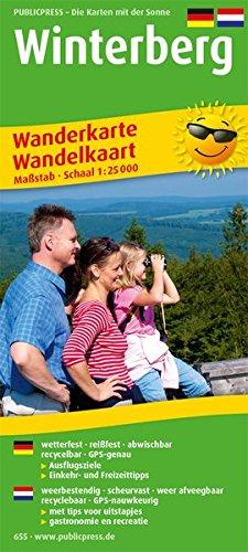 Winterberg 1 : 25 000 Wanderkarte: Mit Ausflugszielen, Einkehr- & Freizeittipps