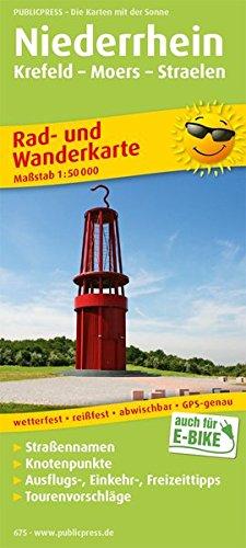 9783899206753: Lower Rhein 675 Krefeld Straelen Bicycle