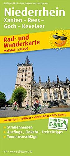 9783899207149: Lower Rhein 714 Xanten Kevelaer Bicycle