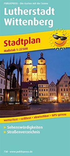 9783899207385: Lutherstadt Wittenberg Stadtplan 1 : 22 500