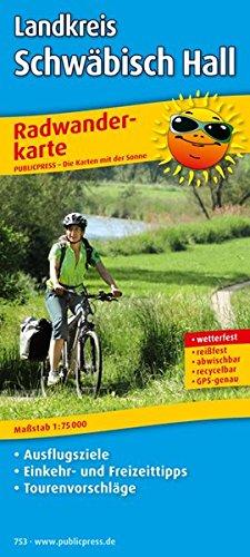 9783899207538: Radwanderkarte Landkreis Schwäbisch Hall 1 : 75 000: Mit Ausflugszielen, Einkehr- & Freizeittipps, Tourenvorschläge