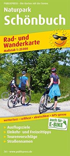 9783899207613: Naturpark Sch�nbuch Rad- und Wanderkarte 1 : 25 000: Mit Ausflugszielen, Einkehr- & Freizeittipps, Tourenvorschl�gen, Stra�ennamen, GPS-genau