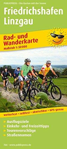 Friedrichshafen 1 : 50 000 Rad- und Wanderkarte: Mit Ausflugszielen, Einkehr- & Freizeittipps, ...