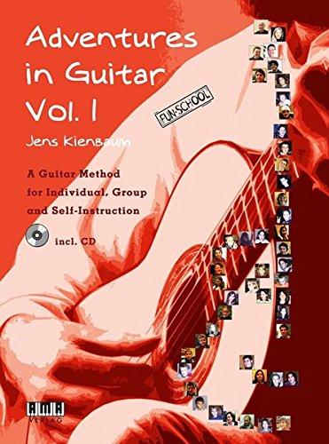 9783899220902: Adventures in Guitar, Volume 1