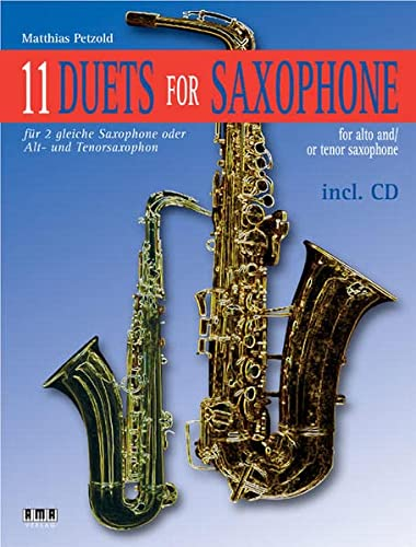9783899220957: 11 Duets for Saxophone for Alto and/or Tenor Saxophone